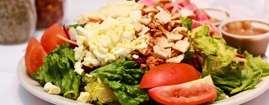 Four Types of Big, Fresh Salads, All With Our Own Dressings